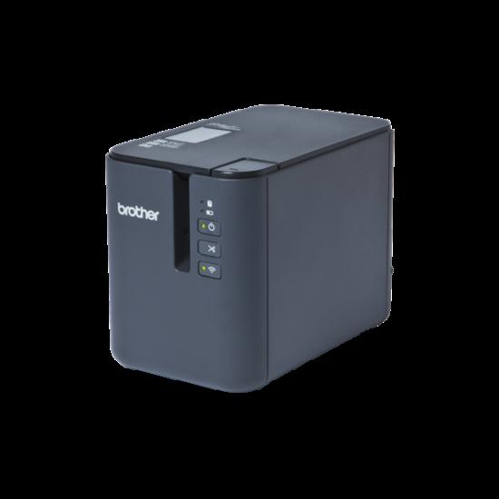 BROTHER Címkenyomtató PT-P900W, asztali, TZe szalag: 3,5-36mm, 60mm/s, WiFi/USB, iPrint&Label/Cable Label Tool app