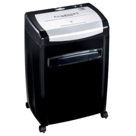DAHLE Iratmegsemmisítő 22114 PaperSAFE®, CD/DVD/Kártya/Gémkapocs, 10 lap (80gr), P-4/T-4/E-3, 2,5 m/min, 28 liter