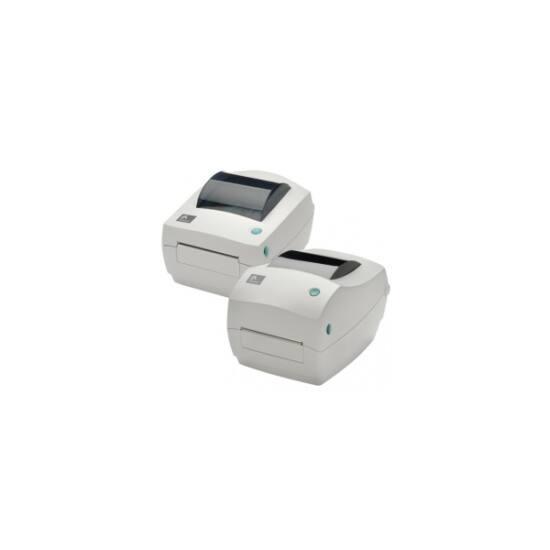 ZEBRA Cimkenyomtató GC420d, Direkt termál, 203 dpi, display, EPL, ZPL, ZPLII, USB,Ethernet