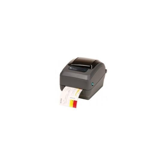 Zebra cimkenyomtató, GX430t rev2, (300 dpi), TT, vágóegység, EPL, ZPL, multi-IF, print szerver (ethernet)