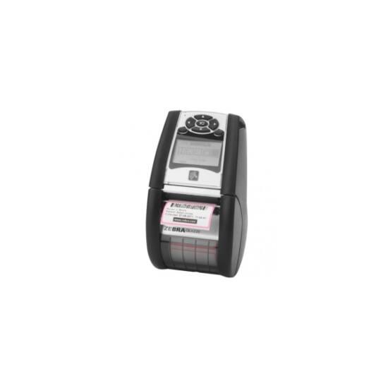 Zebra cimkenyomtató, QLn220, USB, RS232, BT, NFC, (203 dpi), DT, RTC, kijelző, EPL, ZPL, CPCL