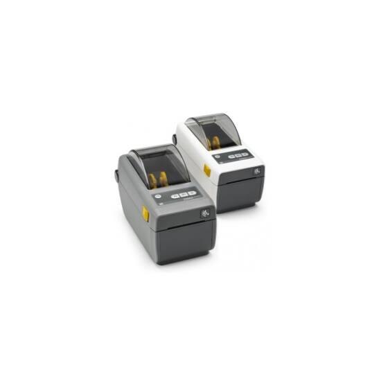 Zebra cimkenyomtató, ZD410, (300 dpi), DT, MS, RTC, EPLII, ZPLII, USB, BT (BLE), Ethernet, sötét szürke