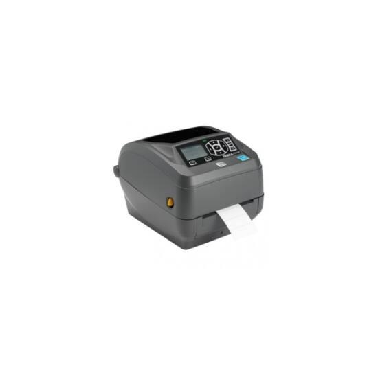 Zebra cimkenyomtató, ZD500, (300 dpi), TT, vágóegység, RTC, ZPLII, multi-IF (Ethernet)